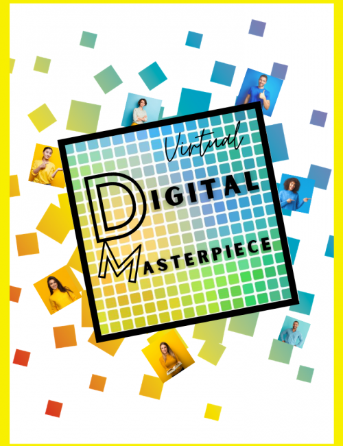 Digital Masterpiece - team building activities for virtual meetings