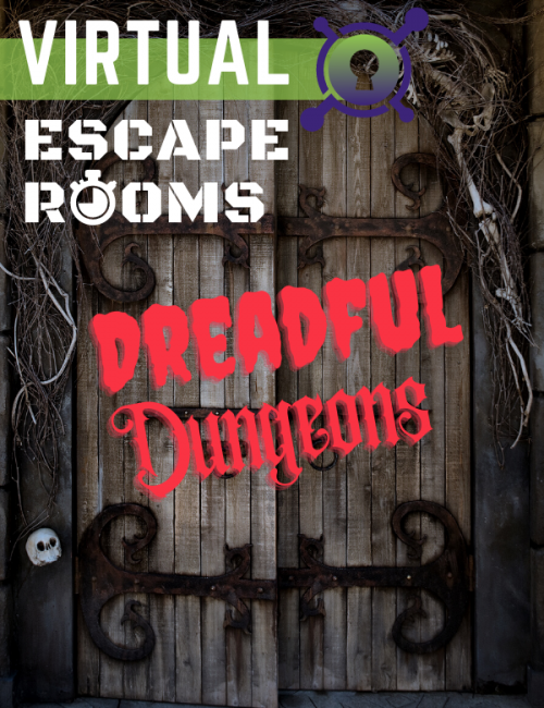 Virtual Escape Room - Dreadful Dungeons - online game for team building