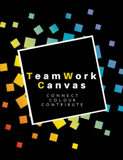 Teamwork canvas virtual team building games for work