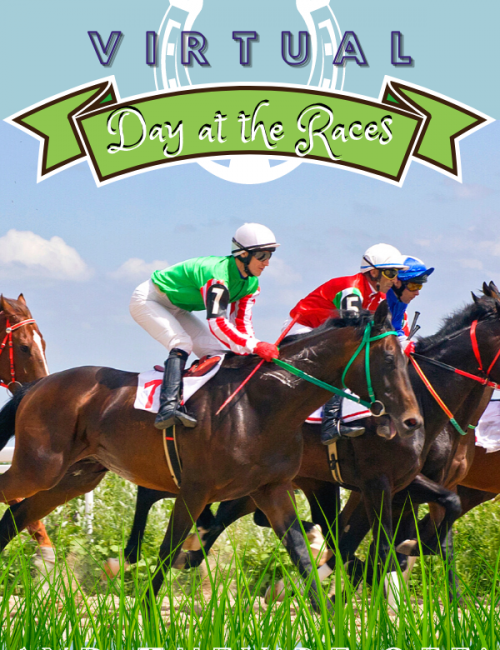 Virtual Day At The Races - horse racing online event for corporate team building