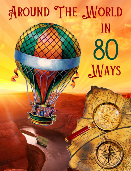 Around The World In 80 Ways - a virtual challenge with travel and adventure