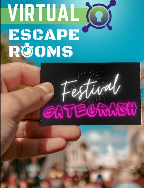 Virtual Escape Room - Festival Gatecrash - corporate summer festival event idea