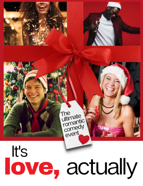 It's Love Actually Christmas Event