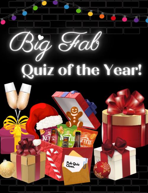 virtual pub quiz event