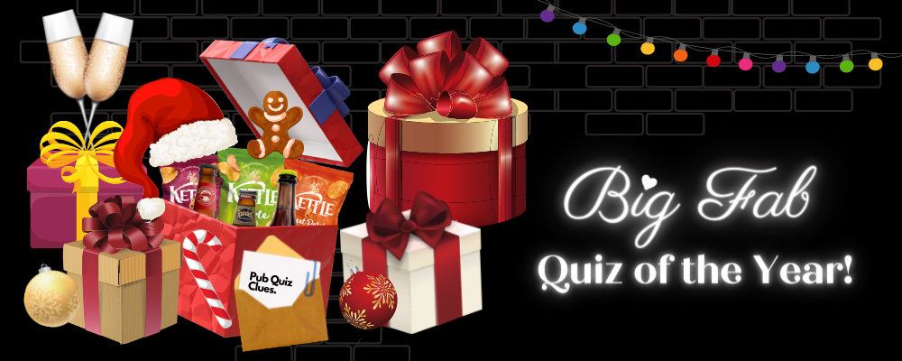 Big fab quiz of the year virtual pub quiz