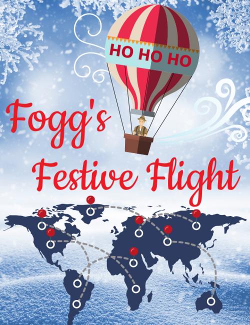 Fogg's festive flight