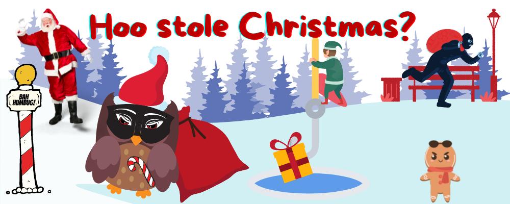 Hoo stole christmas virtual events