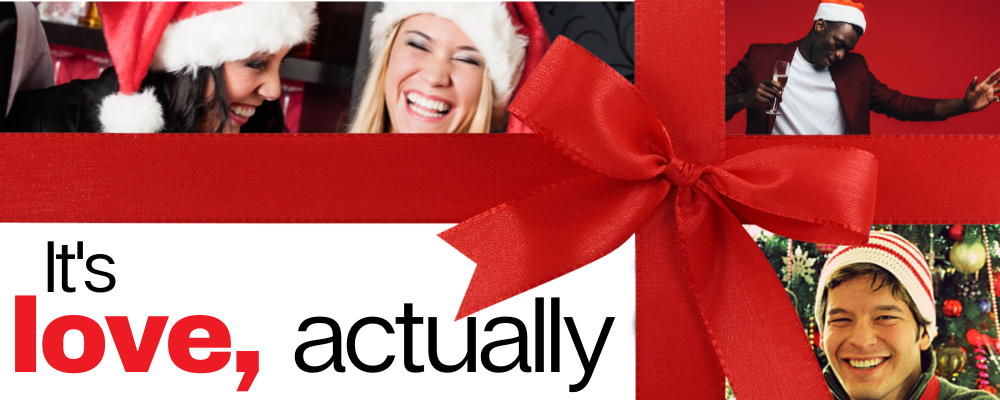 Love actually Christmas team event online game