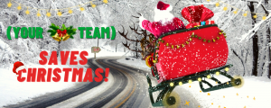 Your team saves Christmas corporate events