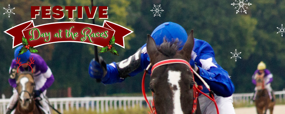 festive day at the races virtual event