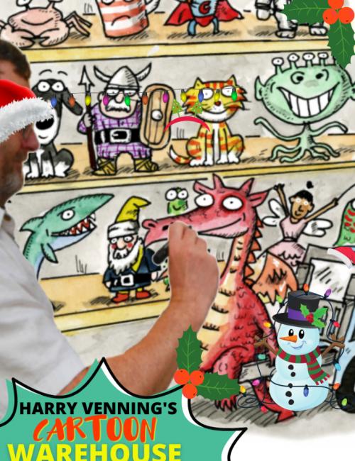 Christmas Cartoon Warehouse