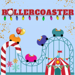 In-Person Christmas Party ideas - Rollercoaster